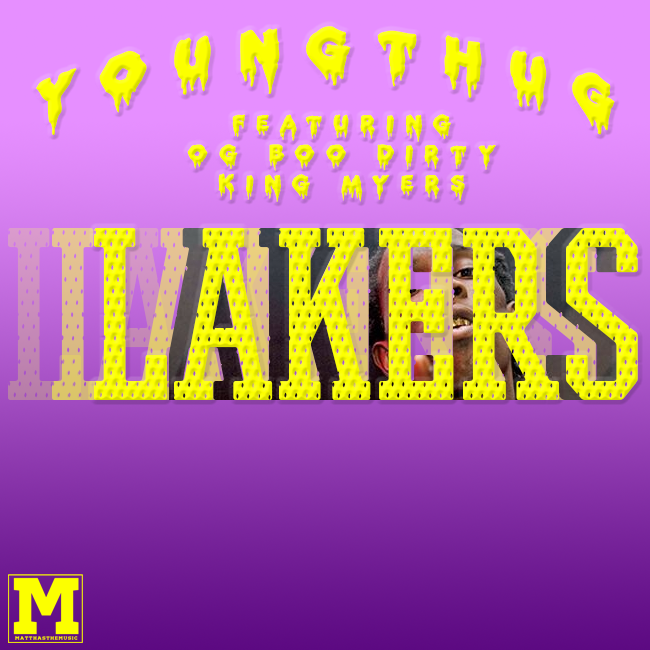 young thug lakers